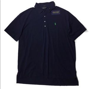 Polo Ralph Lauren Lisle Stretch Navy Short Sleeve